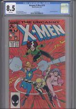 Uncanny X-Men #218 CGC 8.5 1987 Marvel Juggernaut App. Comic: New Frame