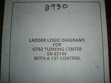 Toyada CNC Lathe GT62 With 15T Control Ladder Logic Diagram Manual