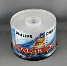 Philips 4.7GB Blank CDs, DVDs & Blu-ray Discs