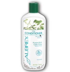 Aubrey Organics Chia Conditioner Protein Rich Color Care Sensitive Unscented11oz