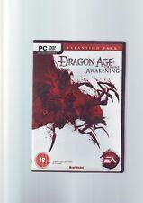 DRAGON AGE ORIGINS: AWAKENING EXPANSION PACK - PC GAME - ORIGINAL & COMPLETE VGC