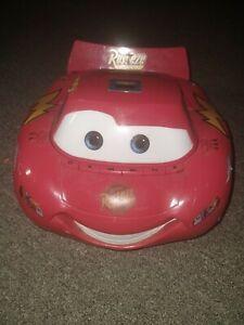 "Disney ""Cars"" Lightning McQueen CD Player AM/FM Radio 2006 Rust-Eze #95"