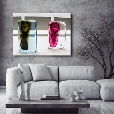 Leinwandbild, 100x70cm, Landschaft, Nature, Abstrakt, Design, Wandbild, 16isa