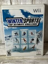 Winter Sports: The Ultimate Challenge (Nintendo Wii, 2007) Complete Tested