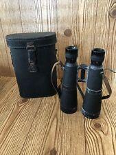 HENSOLDT WETZLAR DIALYT 10 x 50 binoculars GERMAN WWII CASE Military