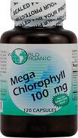 Mega Chlorophyll by World Organics, 120 capsule