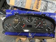 PEUGEOT 406 MK2 AUTO INSTRUMENT CLUSTER CLOCK SET 6104ZF 9648216280 VDO D9/16M