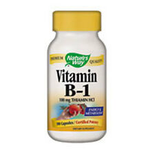Vitamin B-1 100 Caps 100 MG by Nature's Way
