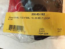 "Safariland 200-83-162 for Glock 4.5"" 19 23 belt loop lined Top Gun  Left"