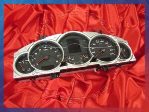 '07 PORSCHE CAYENNE S 4.8L V8 INSTRUMENT CLUSTER TACHOMETER SPEEDOMETER KM/H