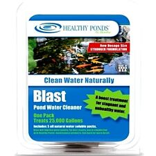 BIOVERSE HEALTHY PONDS BLAST POND ALGAE CLEANER 5 PAC + TREATS 125,000 GAL **