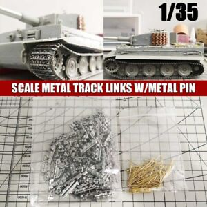 Metal Track Links W/pins for 1/35 Scale German Tiger I Tank model parts DIY Kit