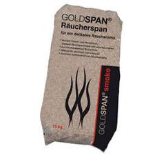 15kg Räucherspäne Goldspan Körnung 3-5mm Räuchermehl Buche Räuchern Räucherholz