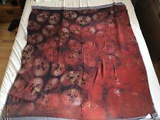 Bolongaro Trevor Skull Print Silk Scarf