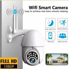 Waterproof Wifi Outdoor Security Camera 1080P HD  Two Way Audio Motion Sensor IR