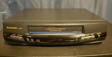 New listing Panasonic Pv-8450 Vcr 4-Head Omnivision Video Cassette Recorder Vhs Player Works