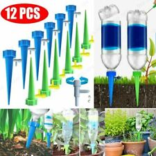 New Listing12Pcs Automatic Self Watering Spikes System Garden Home Plant Pot Waterer Tools