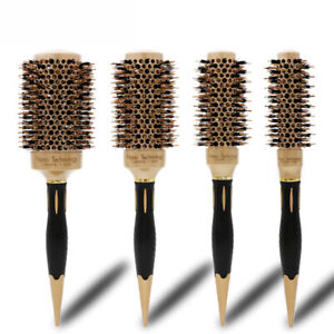 Ceramic Iron Round Comb Only Curling Hair Brush Hair CurlerDrying Boar Beauty