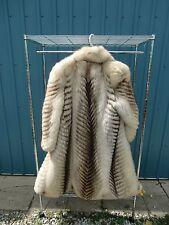 Real Arctic Fox Fur Coat