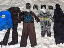 LOT Boy Batman Pretend Play Dress Up Mask Cape Halloween Costumes Toddler 4-6
