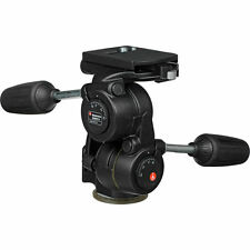 Manfrotto 808 RC4 Counter Balance 3 way  Pan Tilt Head with Quick Lock