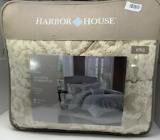 Harbor House 3 Piece Luxury Suzanna King Bedroom Comforter Set Cotton in Taupe