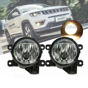 Fog Light Lamp For Fiat 500 2012-2017 500L 2014-2017 For Jeep Cherokee 2014-2017