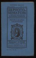 Photo-Miniature Magazine Numéro 4 Juillet 1899 Extérieur Photographie Rural