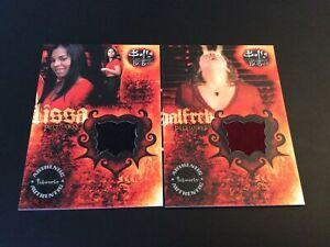 2 X Buffy the Vampire Slayer Big Bads Halfrek PW5 Pieceworks Cards (BTVS)