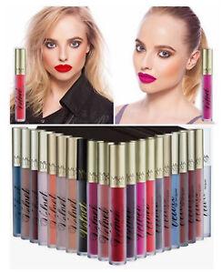 MUA LUXE Velvet Lip Lacquer Matte Long Lasting Liquid Lipstick NEW SHADES!!!