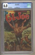 G.I. Joe 10 (CGC 6.0) OW/W Pages; Highest Graded! 1952 Ziff-Davis Comics (j# 49)
