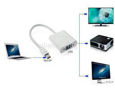 NEW Thunderbolt Mini Displayport Display Port Mini DP To VGA Cable Adapter US