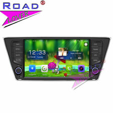 "8"" Quad Core Android 6.0 Car Media Center Stereo Player For Skoda Fabia GPS Navi"