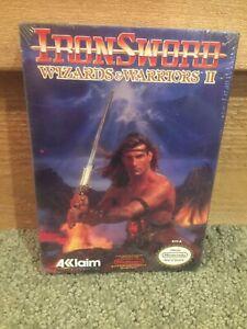 1985 NES Wizards and Warriors /& Iron Sword:Wizards and Warriors II Video Games