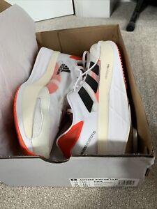 Adidas Adizero Boston 10 Running Racing Shoes Men UK 12.5 Lightly Used