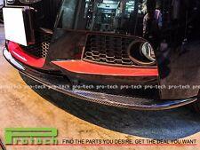 3D Style Carbon Fiber Front Lip For BMW 1-Series F20/F21 118i 125i w / M Sport