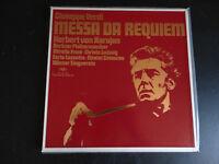 Cofanetto 2 LP Verdi Karajan Berliner - Messa Da Requiem/ Molto Bon Condizioni
