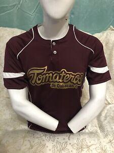 Playera De Baseball Béisbol TOMATEROS DE CULIACAN Guinda Size Small