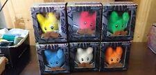 Set of 6 Cute N' Crazy Labbit Plush 2015 Series Kozik & Kidrobot Peluche Doudou