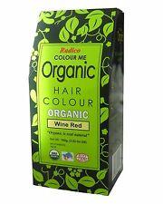 RADICO COLOUR ME ORGANIC NATURAL HAIR COLOUR - WINE RED