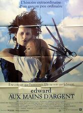 EDWARD SCISSORHANDS/MAINS D'ARGENT- Burton - AFFICHE 120x160/47x63 FRENCH POSTER