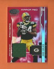 2003 LEAF CERTIFIED MIRROR RED JAVON WALKER GAME-USED JERSEY #d 026/150 PACKERS
