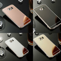 Ultra-Thin Mirror Silicone Gel TPU Hard Case Cover For Samsung Galaxy S4 S5
