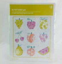 The Fruit Basket Quilt 025 an English Paper Piecing Pattern Violet Craft