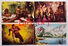 Album LONTANO WEST 1 DARDO 1962 - 4 figurine 31 32 33 34
