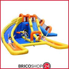 Castello Giostra gonfiabile Parco acquatico con Pompa Inclusa Happy Hop