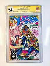 Uncanny X-Men 282 CGC 9.8 signed by Art Thibert & Whilce Portacio 1st Bishop