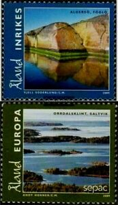 Finland - ALAND 2009 Landscape (complete issue 316-317)  MNH set Unused stamps.