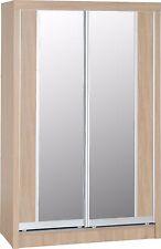 Lisbon Light Oak Bedroom Furniture Wardrobes Chests Dressing Table Mirror 2 Door Sliding Wardrobe