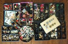 13 lbs. Vintage Estate Lot Sewing Buttons Collection